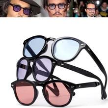 2d5f04c31f Vintage Johnny Depp Robert Downey Jr Sunglasses Retro Fashion Full Rim Men  Sun Glasses Rx able