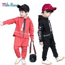 c4e79c9834fd8 2019 أطفال الربيع الفتيان الملابس مجموعة 2 PCS طفل الملابس الصبي كوريا أنيق  الأزياء الزي الأطفال الملابس القطنية الدعاوى سترة + .