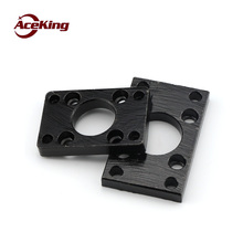 SC Cylinder enclosure square flange plate -FA SC 32/40/50/63/80/100/125cylinder diameter universal fitting mounting plate holder цены онлайн