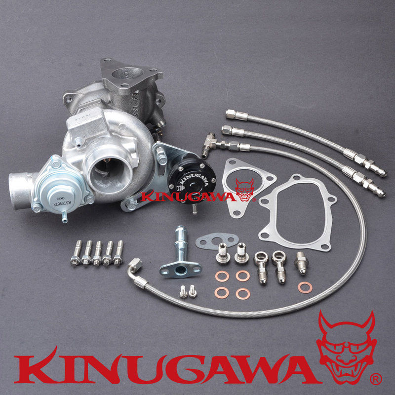 Kinugawa Turbocharger TD04L 14T 6cm for SUBARU Bolt On