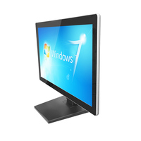 12inch floor standing full hd digital signage interactive touch information lcd advertising player