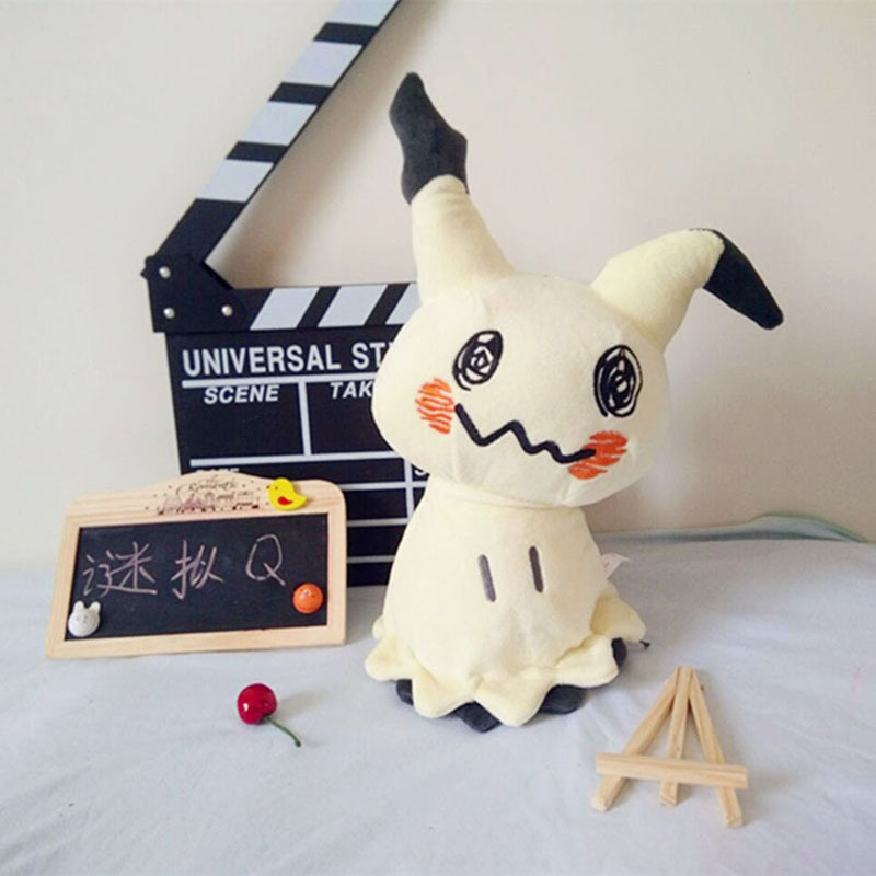 Image 2 - 30cm Mimikyu Plush Toys Cartoon Anime Sun Moon Mimikyu Pikachu Stuffed Soft Doll Kids Toy Birthday Gift For ChildrenMovies & TV   -