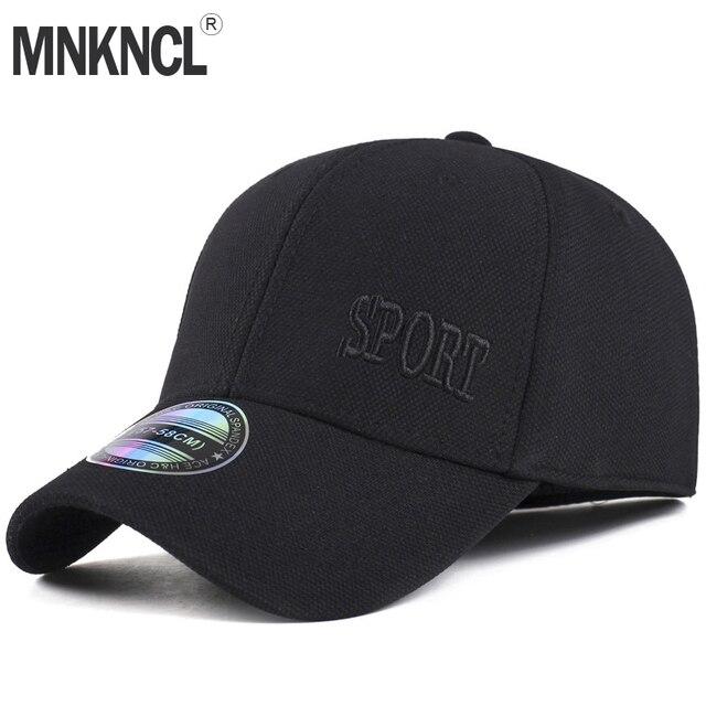 29a3f6afbe9c2 MNKNCL Brand Baseball Cap Men Snapback Hats Caps Men Flexfit Fitted Closed  Full Cap Women Gorras Bone Male Trucker Hat Casquette