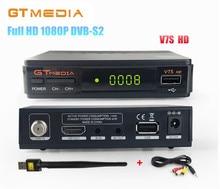 [Genuine] GTMedia V7S DVB-S2 Full HD 1080P Digital Satellite TV Receiver Support PowerVu Biss Key clines Newcamd