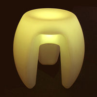 Magic Led Illuminated Furniture Waterproof Indoor 40 40 40cm Led Cube Chair Bar Stools Wedding Cofee