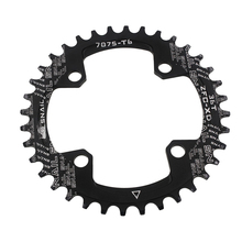 Hot Bicycle Single Chainring Circle Connecting Rods Disk Aluminum Alloy 32T 34T 36T 38T MCK99