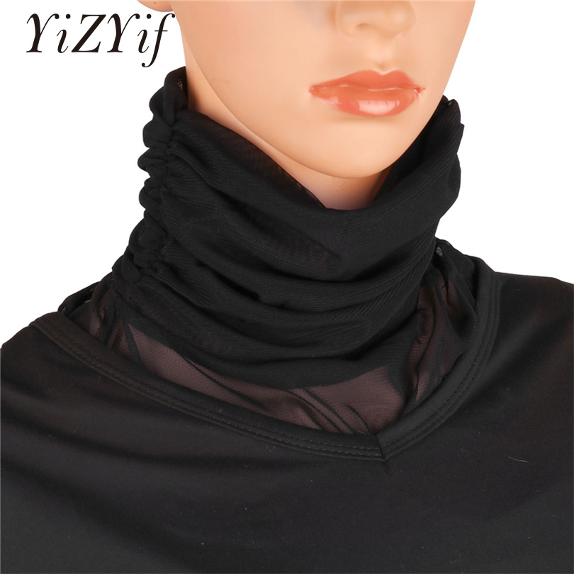 YiZYiF Fake Collar Women's Faux Turtleneck Neck Dickey Collar Half Top False Mock Blouse Neck Cover Collar sweater Collar Women