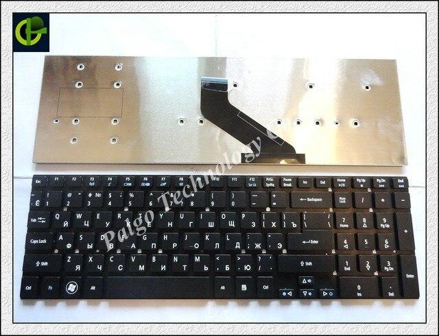 Ruso del teclado para acer aspire e5-721 e5-731 e5-731g e5-771 e5-771g 121746as4ru aezyw700110 misma foto en negro ru