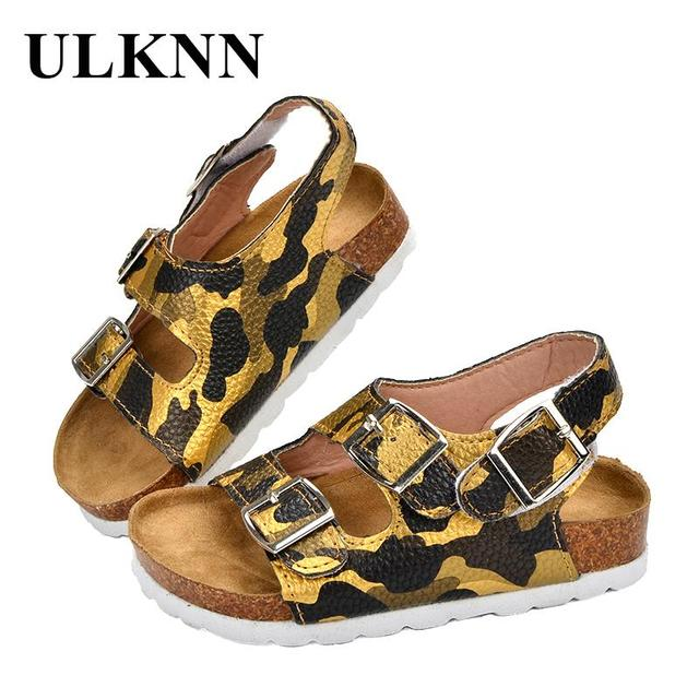936410942a07 ULKNN Summer Kids Beach Sandals Children Open-toe Toddler Boys Sandals  Breathable Quick-dry Water Shoes For Boys 2018 Camouflage
