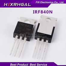 10PCS IRF840 IRF840PBF TO220 TO-220 New original free shipping