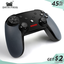 DATA FROG Wireless Bluetooth Gamepad For PC Game Joystick Controller For Nintend Switch Controller Bluetooth Joystick wireless bluetooth game controller for nintend switch gamepad joystick for moblie phone games joystick