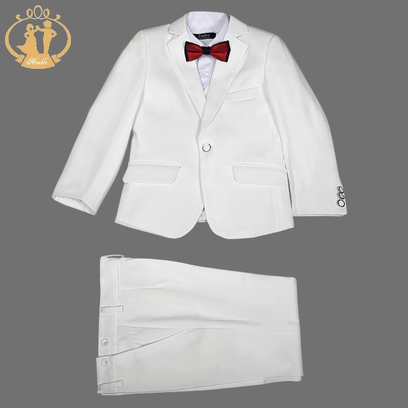 Nimble Boys Suits for Weddings Terno Infantil Costume Enfant Garcon Mariage Baby Boy Suit Costume Garcon