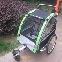 Lovebaby 20 Inch Air Wheel And Aluminum Alloy Frame Baby Jogger Bike Trailer Strong Shock Proof