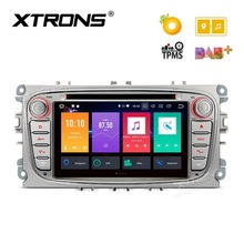 7″ Android 8.0 OS Car DVD Multimedia Navigation GPS Radio for Ford Focus II 2008-2011 & Galaxy II 2006-2011 & Kuga 2008-2012