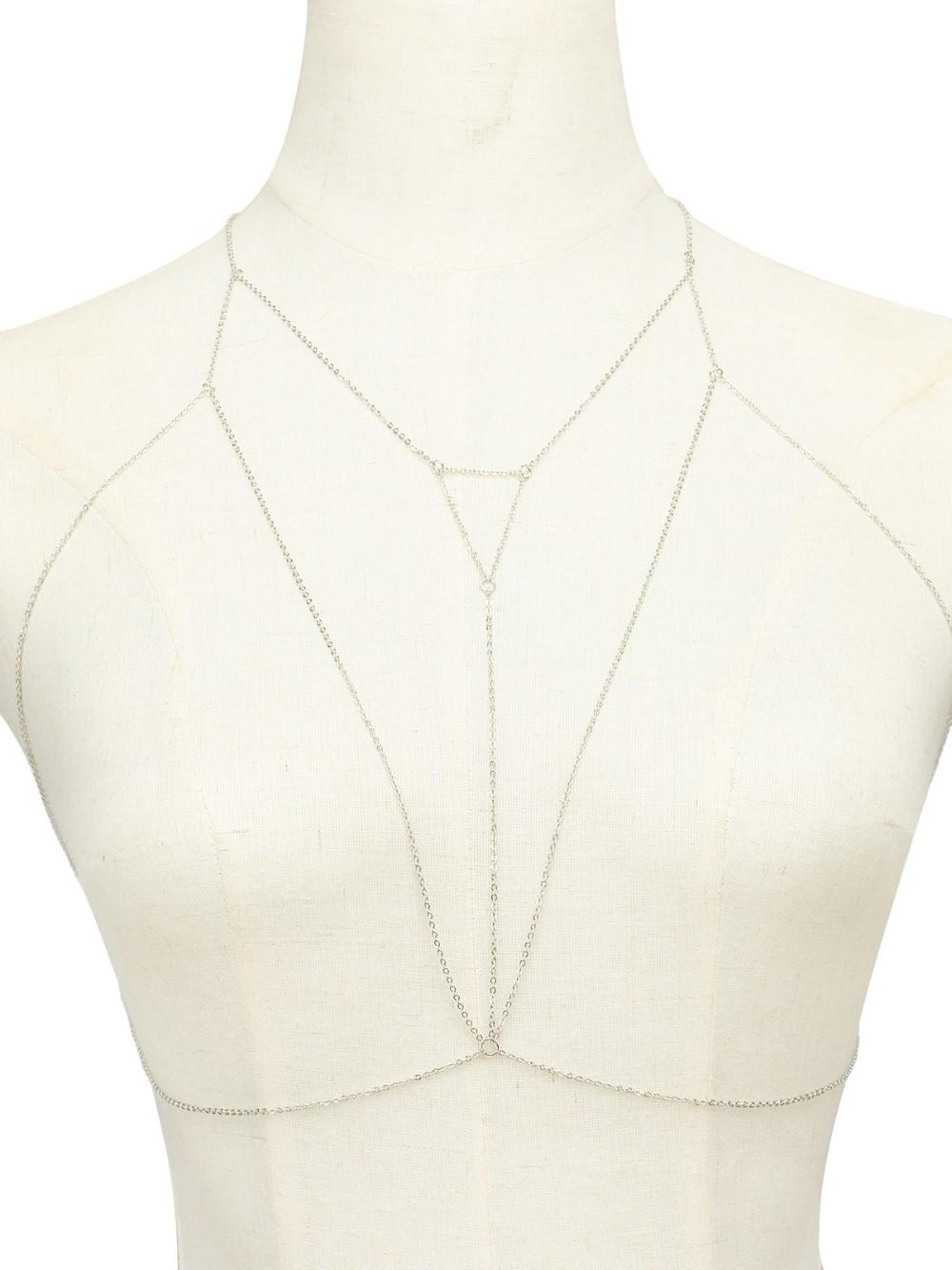 HTB1xTt7NVXXXXXnapXXq6xXFXXXw Triangle Bra Chain Bikini Harness Jewelry Necklace - 2 Colors
