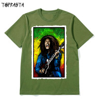 Reggae Music Star Love And Peace Tribute To Freedom Men Women Size High Quality Cotton T