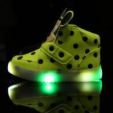 Одноместный shoes световой сапоги случайные кроссовки женский ребенок мужской спорт свет