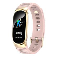 New QW16 color screen smart watch continuous heart rate sleep monitoring reminder Bluetooth sports FOR: iphone Samsung