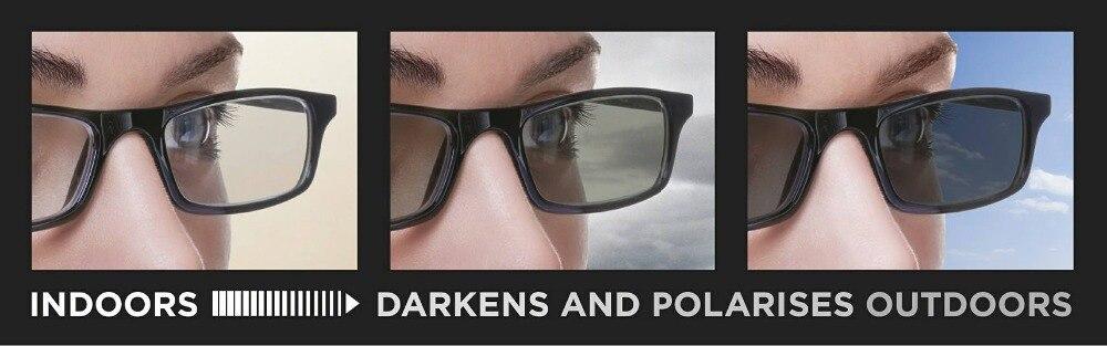 1.56 index Photochromic Bifocal lens prescription lense for