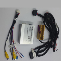 Автомобильная электроника Аксессуары Smart Камера видео Интерфейс для Audi A4 B8 не MMI симфония концерт радио с парковкой рекомендации