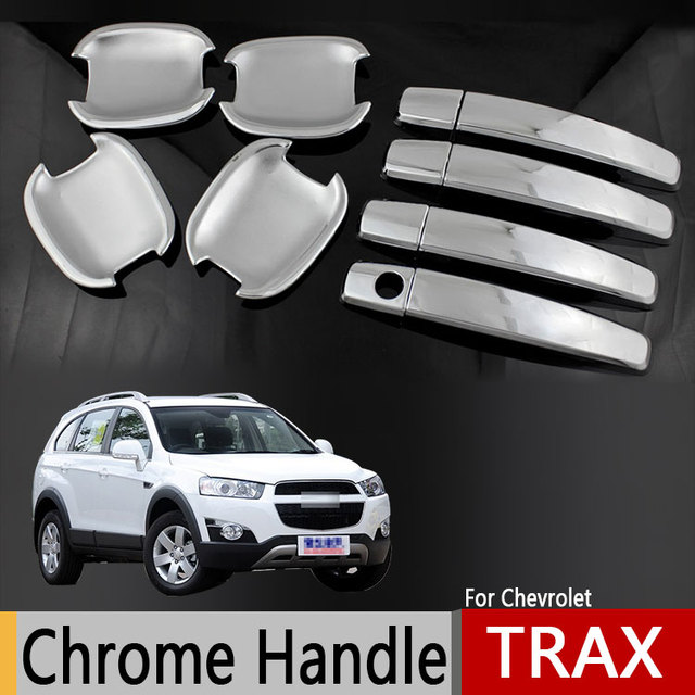 For Chevrolet Holden Trax Opel Vauxhall Mokka Chrome Door Handle ...