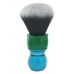 Dscosmetic 26mm esmoquin pelo sintético afeitado cepillo con mango de resina
