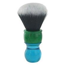 Escova de barbear sintética do cabelo do smoking de dscosmetic 26mm com punho da resina