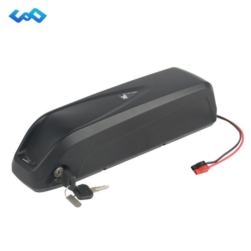 US EU AU No Tax 36V 13Ah Hailong Battery use LG Cell 36V 500W Electric Bike Li-ion Battery for Bafang BBS01 BBS02 Motor Kit