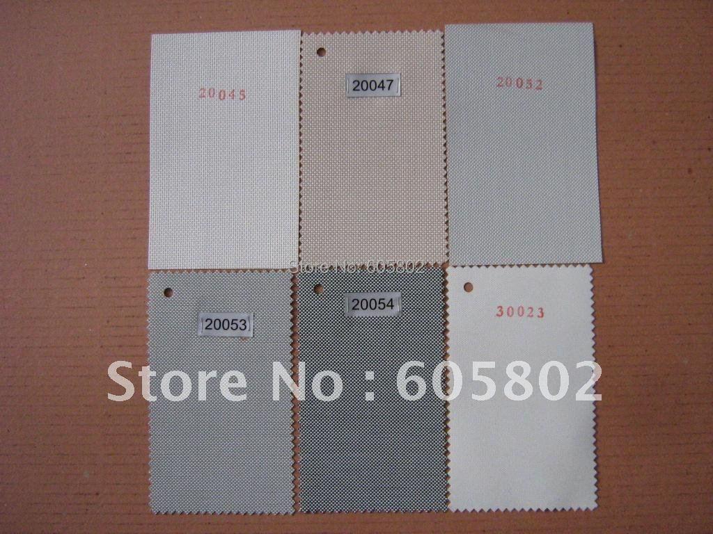 Роликовые шторы с дистанционным управлением, ширина 1,6 м, высота 0,5-1,8 м, Солнцезащитная ткань