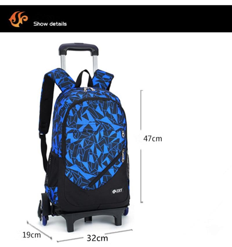 9427b62ecf Teenager Children Mochilas Kids school bags With Wheel Trolley Luggage For  boys Girls Schoolbag Backpack Mochila Infantil Bolsas 3 sets