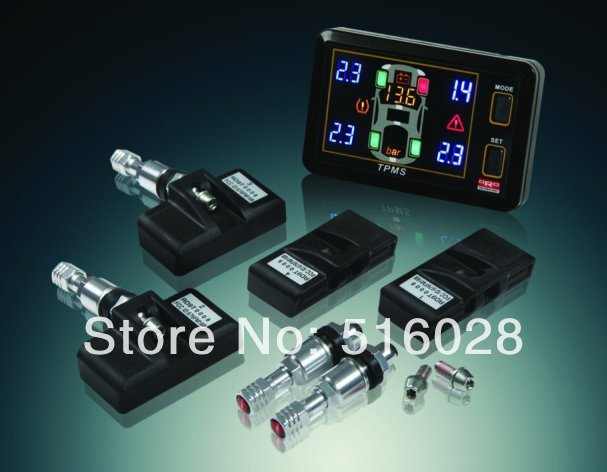 New Oro Auto Tire Pressure Tpms Battery Voltage S400 Tpms Tire Pressure Monitoring System Tires Pressure Sensor Free Shipping
