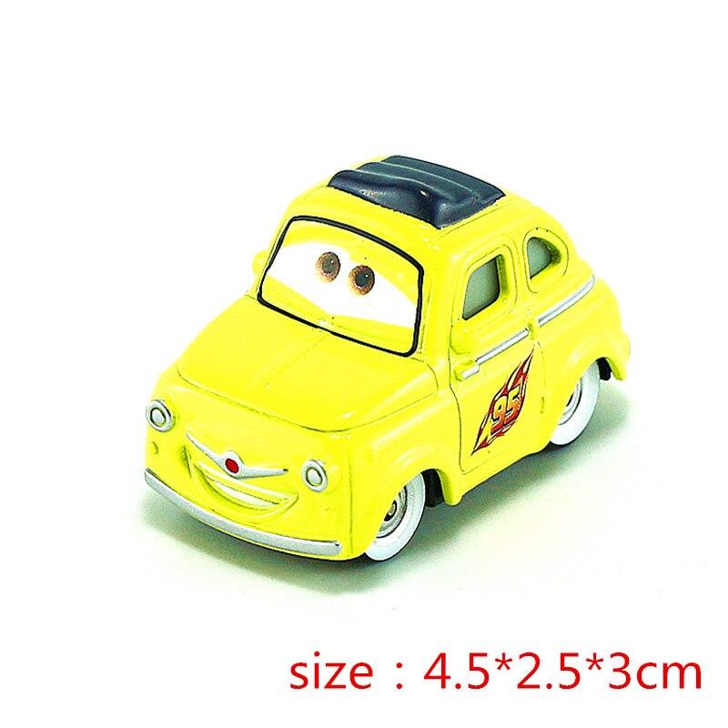 Дисней Pixar Тачки 2 3 Модель Молния Маккуин матер Джексон шторм Рамирез 1:55 литье под давлением автомобиль металлический сплав мальчик малыш игрушки подарок - Цвет: Photo Color