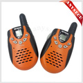 2 PCS New laranja Walkie Talkie Retevis RT-602 U 462.5 - 467.7 MHz 0.5 W 22CH para Kid crianças Display LCD lanterna VOX 2-Way Radio