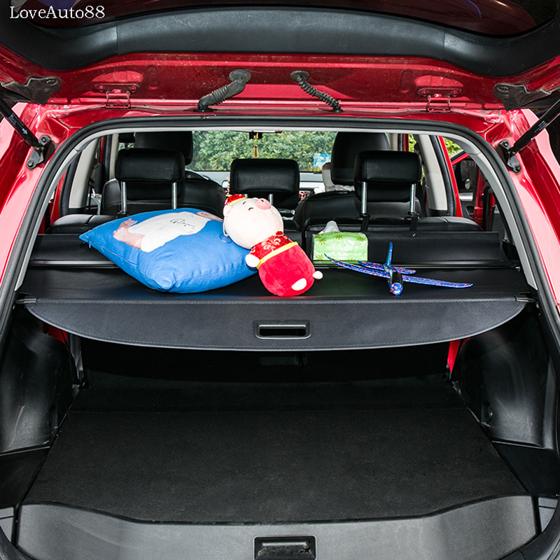 For Toyota RAV4 RAV-4 2014 2015 2016 2017 2018 Cover Curtain Trunk Partition Curtain Partition Rear Racks Car Styling