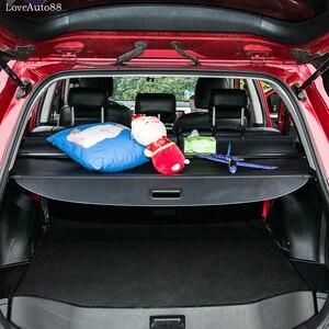 Image 2 - Voor Toyota RAV4 RAV 4 2014 2015 2016 2017 2018 Auto gordijn kofferbak partitie gordijn partitie Achter Rekken Auto styling