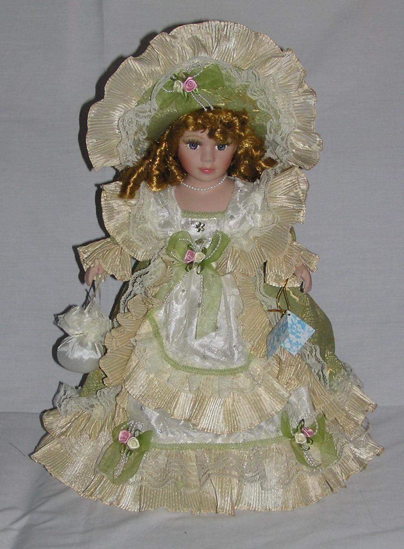 40cm retro porcelain doll simulation ceramic dolls exquisite fashion