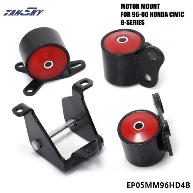 Pour HONDA CIVIC EK SI DX LX EX solide 96-00 support moteur B16 B18 B-SERIES échange moteur EPMAN TK-EP05MM96HD4B