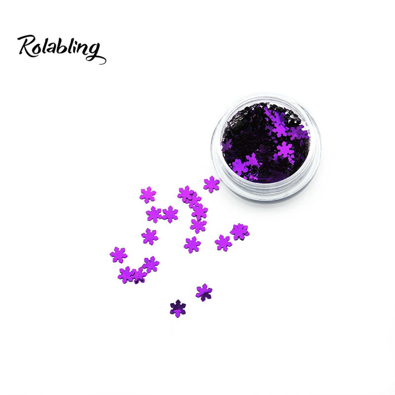 2016 New Trend Dark Purple Christmas Nail Art Accessories Of Color Powder For Glitter Powder 3D Nail Art Decorations