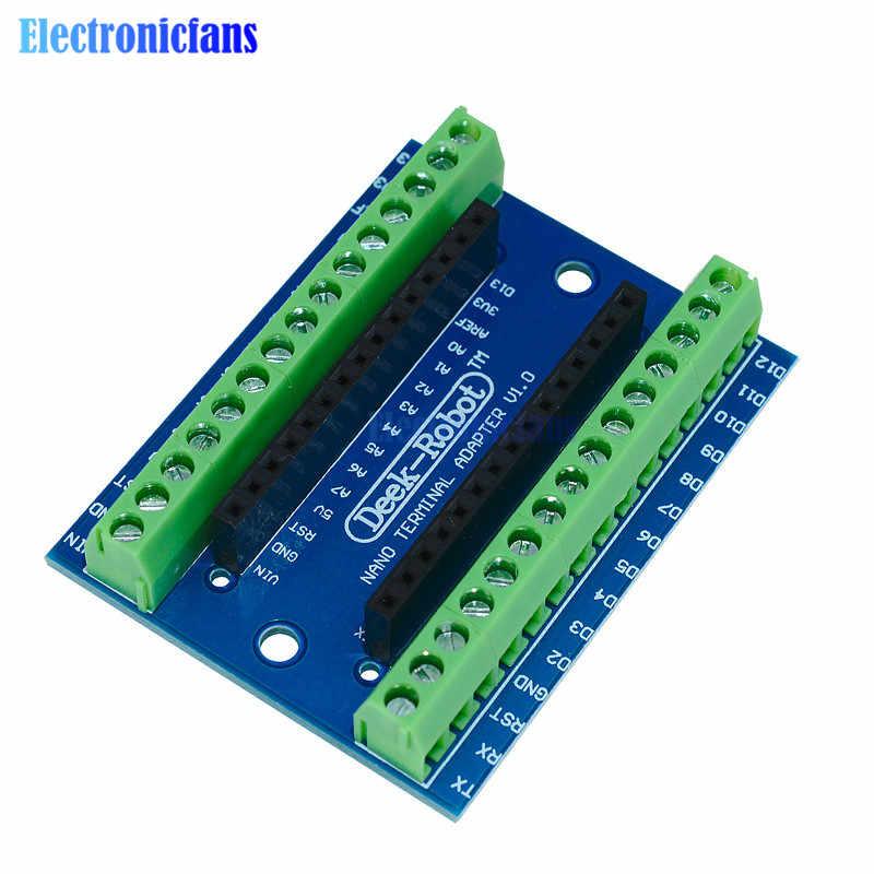 CH340 CH340G نانو V3.0 3.0 تحكم سائق ATMEGA328 ATMEGA328P محطة لوح تمديد نانو IO درع لاردوينو البسيطة USB