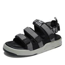 Outdoor Unisex Flat Summer Sandals Men Women Beach Shoes Casual Comfortable Men and Women  Sandals недорого