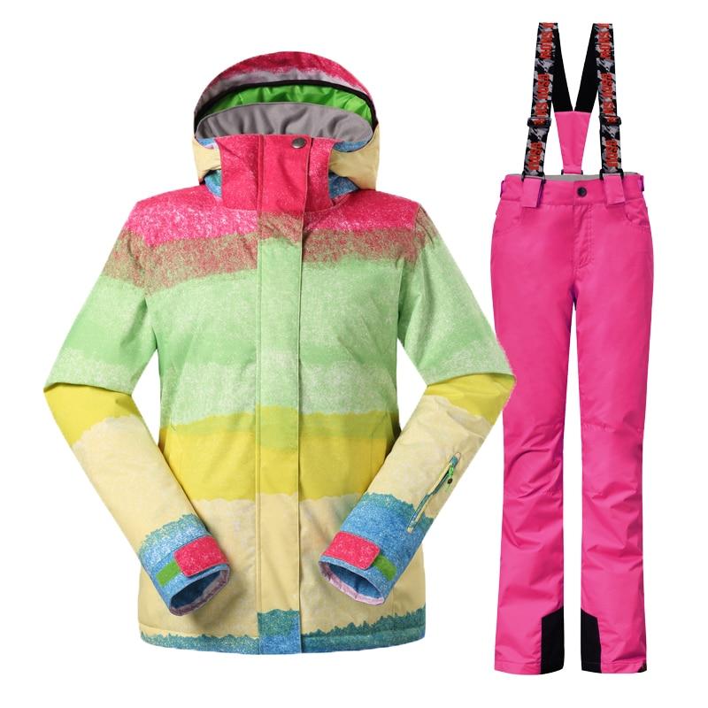Gsou Snow шаңғы костюмдер әйелдер - Спорттық киім мен керек-жарақтар - фото 3