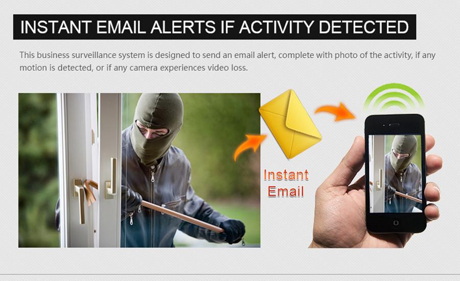 email alarm