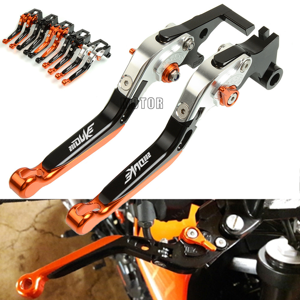 Motorcycle Folding Clutch Brake Lever For Honda CRF1000L 2016-2017 Silver