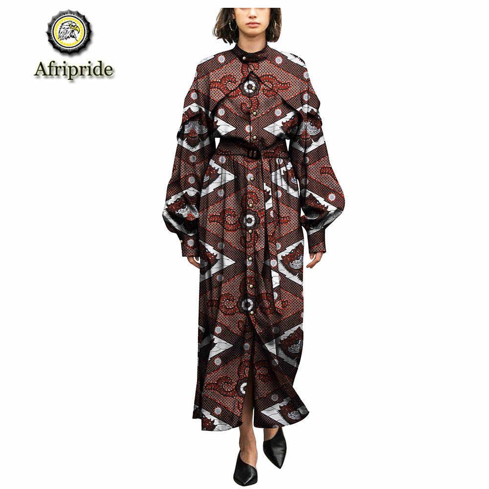 73d0eee131a74 2019 african dresses for women AFRIPRIDE pure cotton ankara print dashiki  bazin riche dress wax batik private custom S1825086