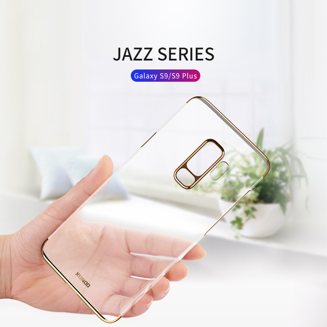 finest selection 9bead 1763a US $18.69 |XUNDD Jazz PC Series Transparent Phone Case For Samsung Galaxy  S9 S9 Plus Ultra thin Full Protective Cover Back Protector-in Phone Bumper  ...