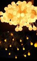 20pcs Lot Novelty Outdoor Lighting LED Ball String Lamps 10m 100leds 110v 220v Christmas Lights Fairy
