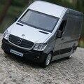 Vehículos Comerciales van modelos de automóviles de aleación 1:36 Benz sprinter para regalos de cumpleaños del bebé
