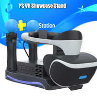 PS4 PS Move VR Charging Storage Stand PSVR Headset CUH-ZVR2 2th Bracket for PS VR Move Showcase