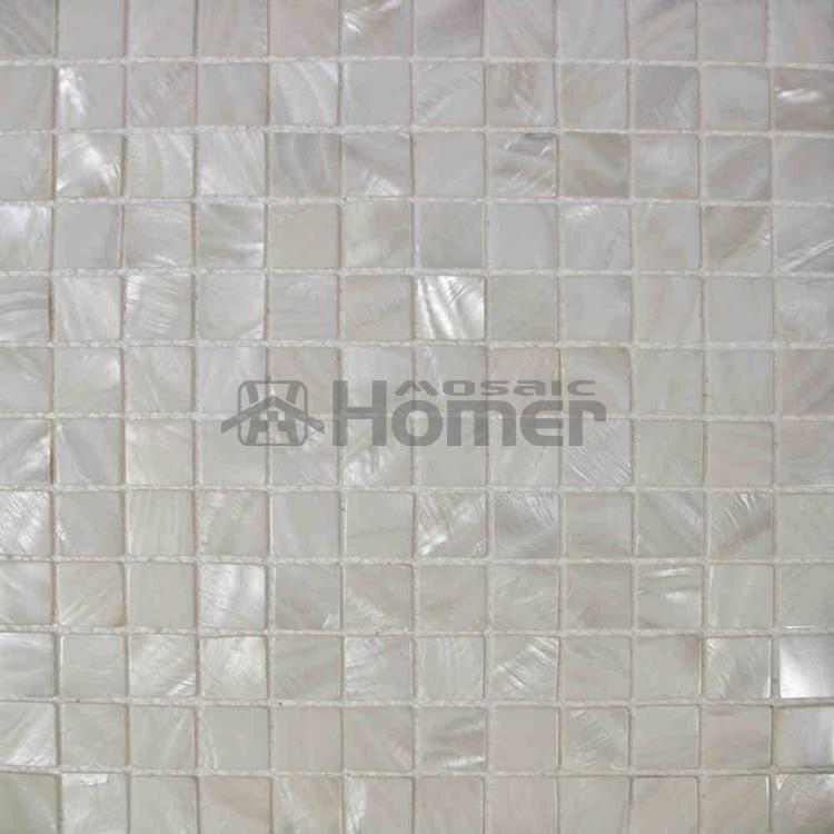 Nacre tiles pearl mosaic tiles for backsplsh bathroom wall mosaic tiles hallway powder room - Piastrelle fine serie ...