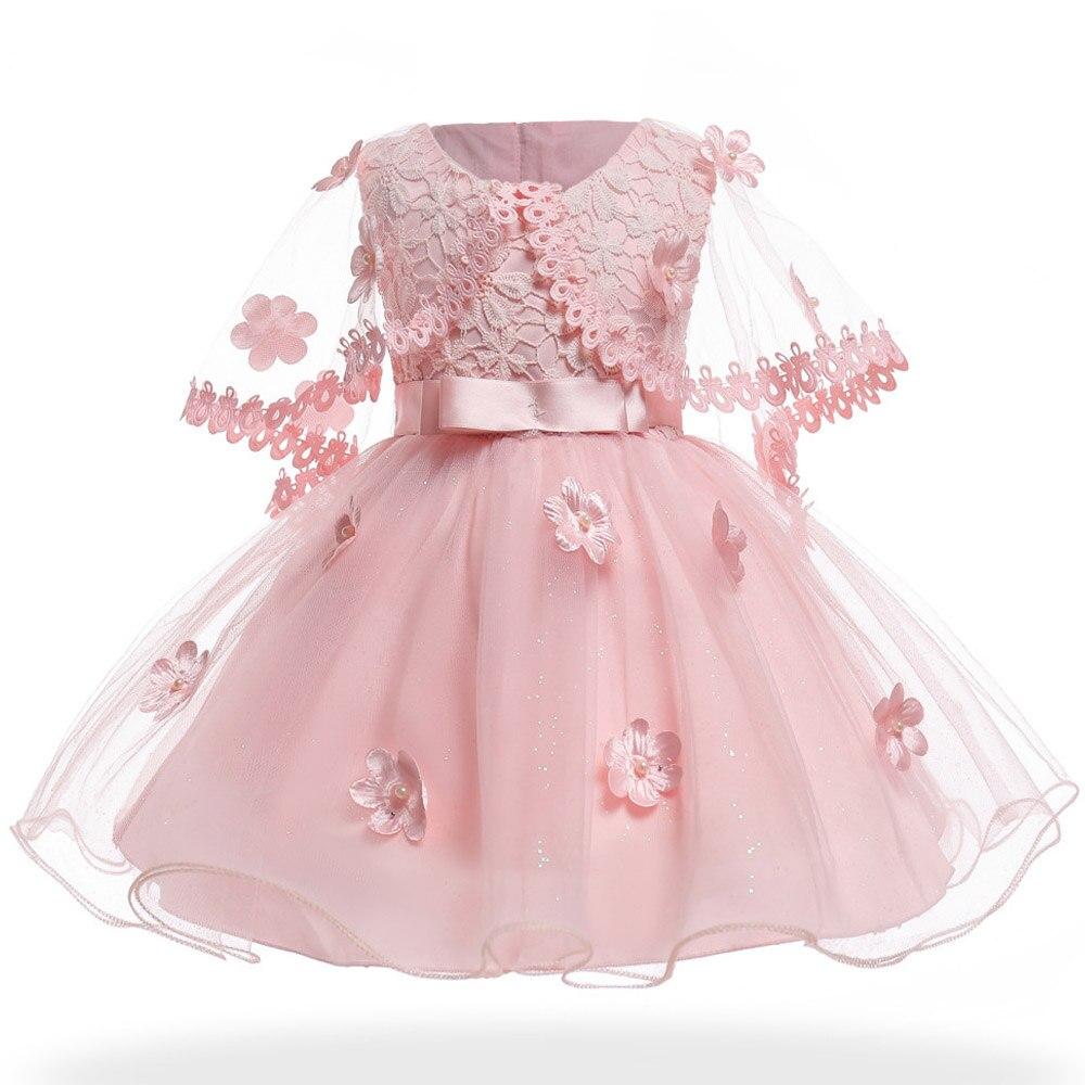 Girls Elegant Princess Dress Flower Girl Wedding Dresses For Girls ...